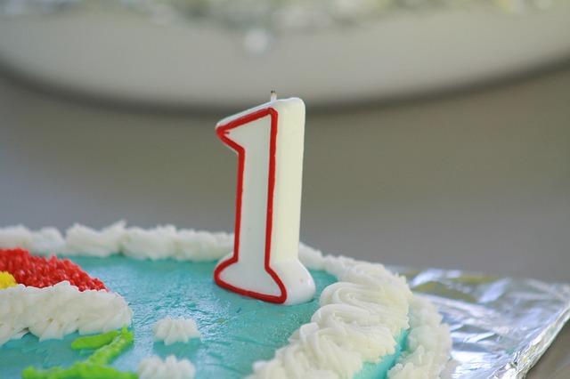 dort k prvním narozeninám