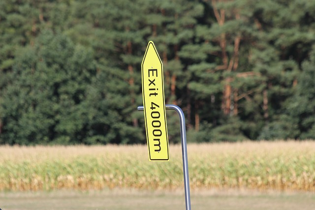 označení východu