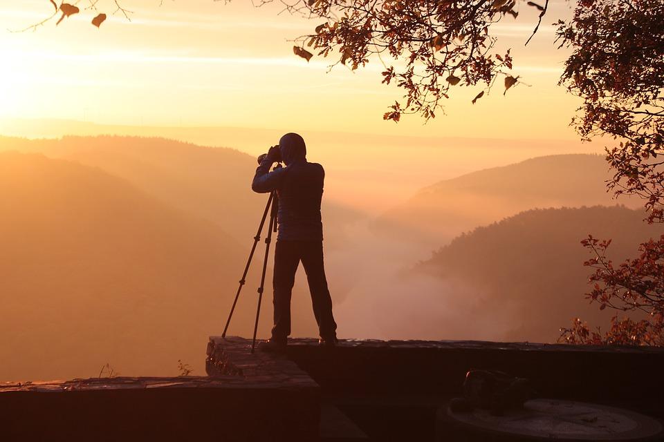 venkovní fotografování
